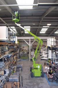 Nifty Light Weight HR12 2x4 Knuckle Boom Bi-Energy Narrow Model