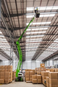 Nifty Light Weight HR15N 2x4 Bi-Energy Narrow Knuckle Boom